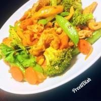 Preeti Snappy Veggie Stir Fry--Dairy Free